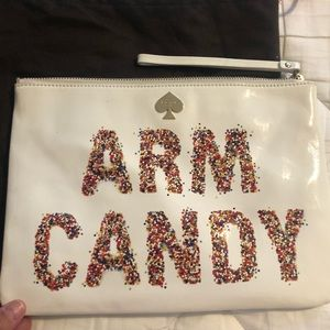 Kate Spade Arm Candy clutch